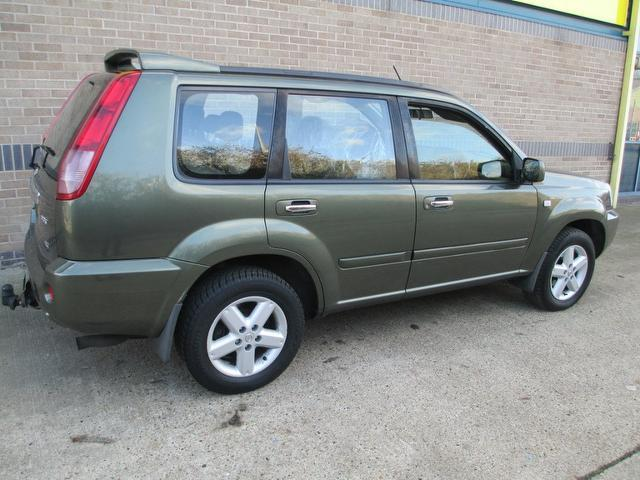 used nissan x trail 2005 diesel 2 2 dci 136 sport 4x4. Black Bedroom Furniture Sets. Home Design Ideas