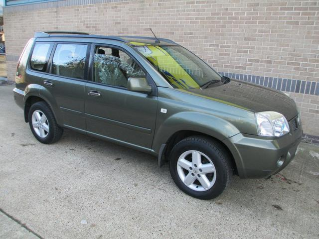 used nissan x trail 2005 diesel 2 2 dci 136 sport 4x4 green with electric mirrors for sale. Black Bedroom Furniture Sets. Home Design Ideas