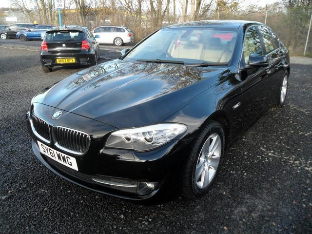 used black bmw 5 series 2011 diesel 520d se 4dr saloon in great condition for sale autopazar. Black Bedroom Furniture Sets. Home Design Ideas