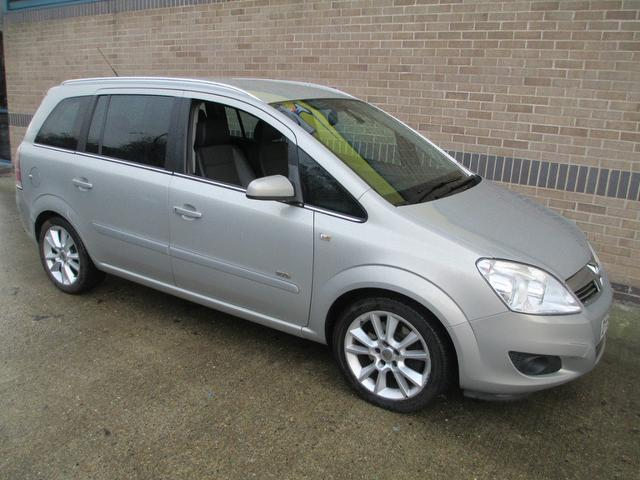 used 2008 vauxhall zafira estate beige edition 1 9 cdti design 150bhp diesel for sale in norwich. Black Bedroom Furniture Sets. Home Design Ideas
