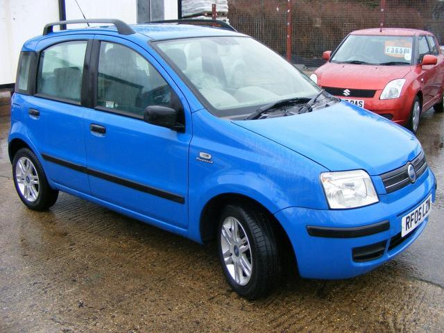 used fiat panda 2005 manual petrol 1 2 eleganza 5 door blue for sale uk autopazar. Black Bedroom Furniture Sets. Home Design Ideas