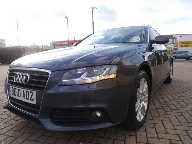 Used Audi A4 2.0 Tdi 143 Se Estate Grey 2010 Diesel for Sale in UK