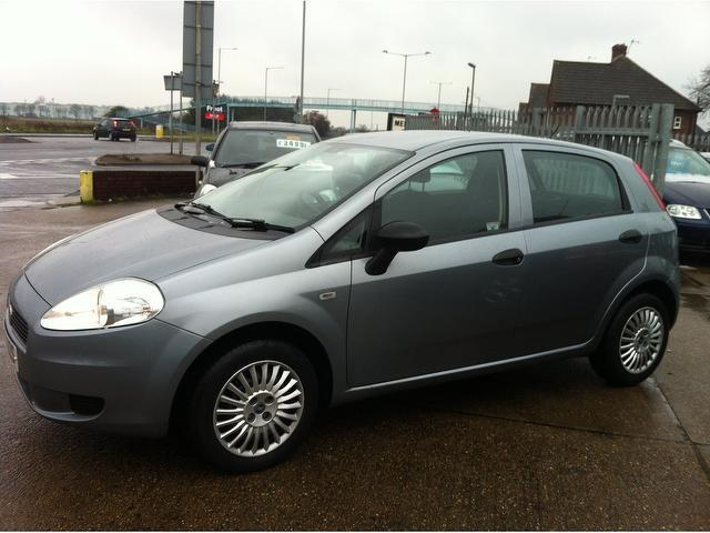 used fiat grande 2008 petrol punto 1 2 active 5dr hatchback grey edition for sale in ashford uk. Black Bedroom Furniture Sets. Home Design Ideas