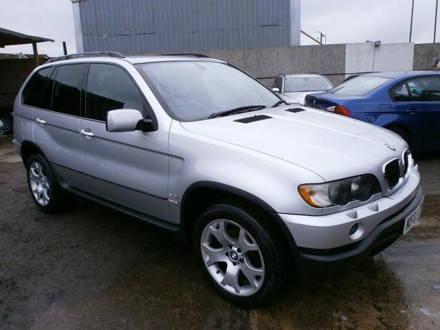 used bmw x5 2003 petrol sport 5dr auto 4x4 silver with airbag for driver sale autopazar. Black Bedroom Furniture Sets. Home Design Ideas