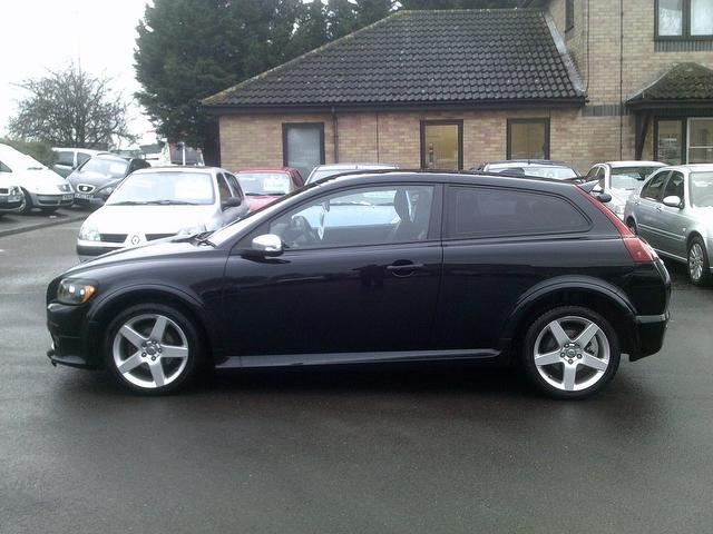 Used Volvo C30 1.6 R Design Sport Coupe Black 2009 Petrol for Sale in UK