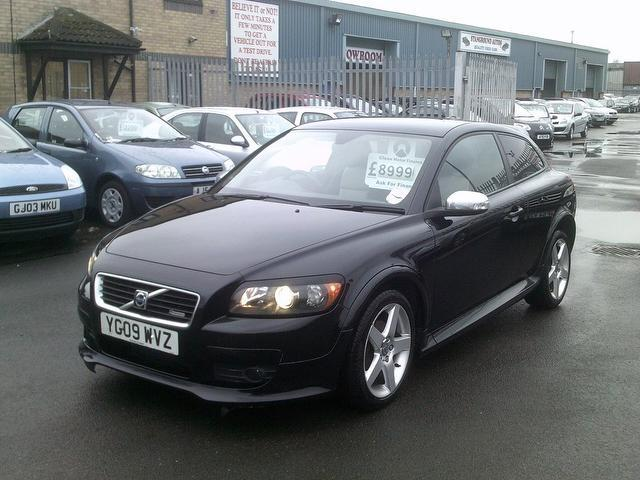 Used Volvo C30 2009 Black Coupe Petrol Manual for Sale