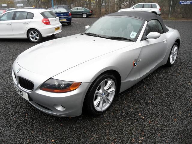 Used Bmw Z4 2005 Silver Colour Petrol 2 5i Se 2 Door