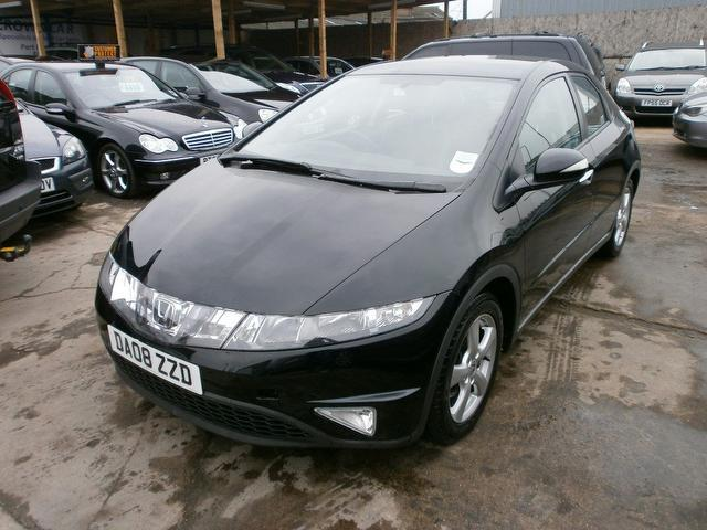 used 2008 honda civic hatchback 1 8 i vtec se 5dr petrol for sale in wembley uk autopazar. Black Bedroom Furniture Sets. Home Design Ideas