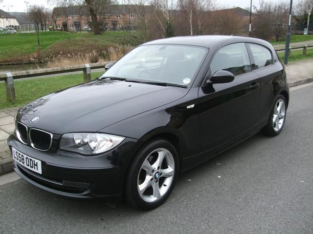 used bmw 1 series 2008 diesel 118d edition es hatchback. Black Bedroom Furniture Sets. Home Design Ideas