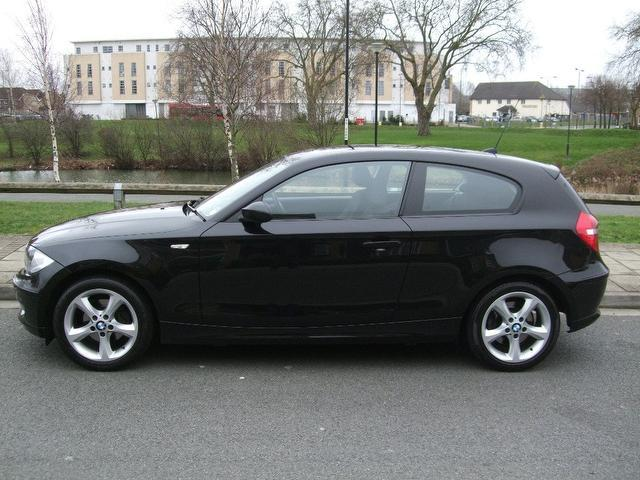 used bmw 1 series 2008 diesel 118d edition es hatchback black with alarm device for sale autopazar. Black Bedroom Furniture Sets. Home Design Ideas