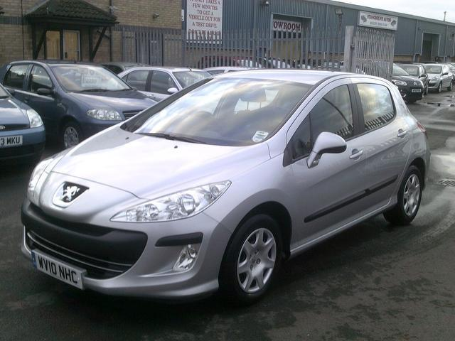 used peugeot 308 2010 diesel 1 6 hdi 90 s hatchback silver edition for sale in fengate uk. Black Bedroom Furniture Sets. Home Design Ideas