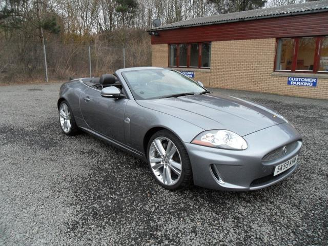 used jaguar xk car 2009 grey petrol 5 0 v8 portfolio 2. Black Bedroom Furniture Sets. Home Design Ideas