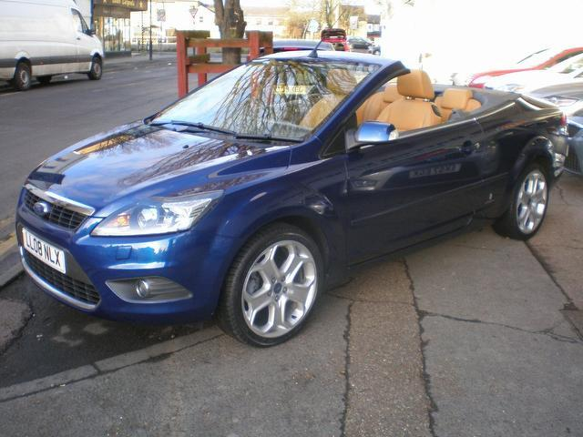Used Ford Focus For Sale >> Used Ford Focus 2008 Blue Paint Petrol 2.0 Cc-3 2dr Auto ...