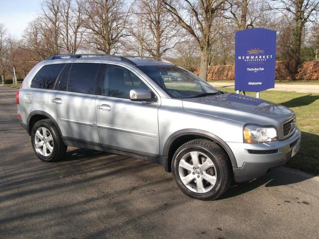 used volvo xc90 2009 diesel 2 4 d5 active 5dr 4x4 silver. Black Bedroom Furniture Sets. Home Design Ideas