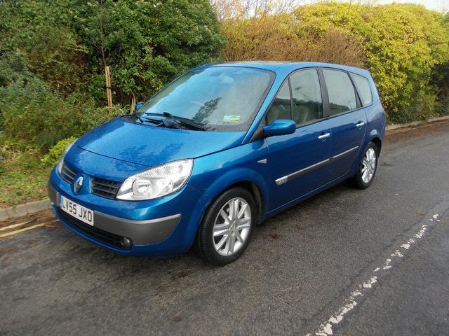 used renault grand 2005 petrol scenic 2 0 t 16v estate blue edition for sale in keynsham uk. Black Bedroom Furniture Sets. Home Design Ideas