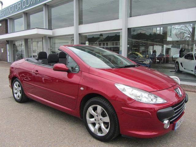 used 2006 peugeot 307 convertible 2 0 s 2dr petrol for sale in sevenoaks uk autopazar. Black Bedroom Furniture Sets. Home Design Ideas
