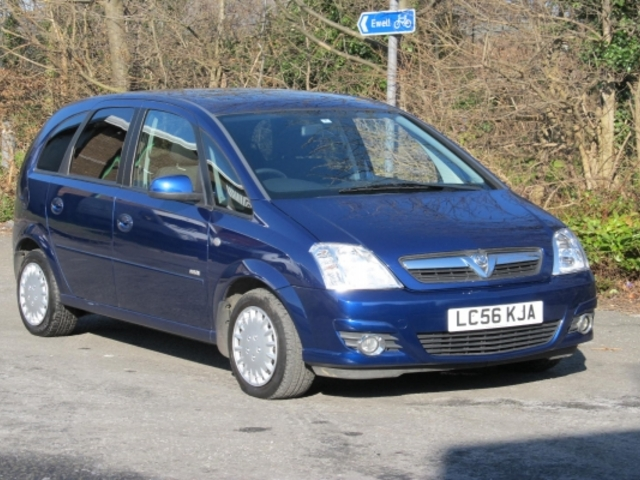 Used Blue Vauxhall Meriva 2006 Petrol In Great Condition For Sale