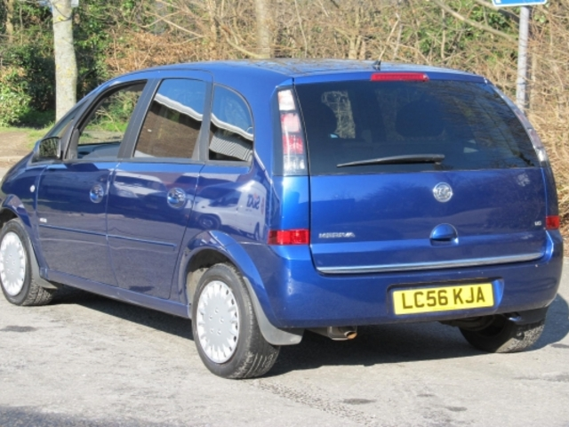 used blue vauxhall meriva 2006 petrol in great condition for sale   autopazar