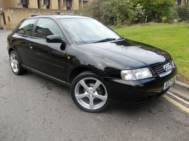 used audi a3 2001 black paint petrol 1 6 sport 3dr hatchback for sale in keynsham uk autopazar. Black Bedroom Furniture Sets. Home Design Ideas