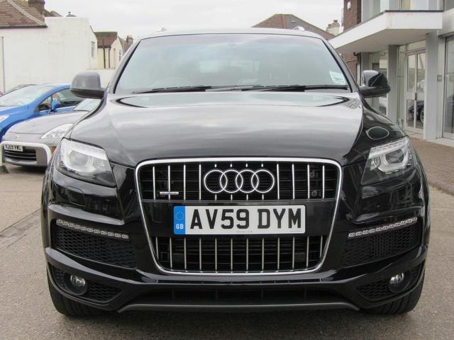 used black audi q7 2009 diesel 3 0 tdi quattro s 4x4 excellent condition for sale autopazar. Black Bedroom Furniture Sets. Home Design Ideas