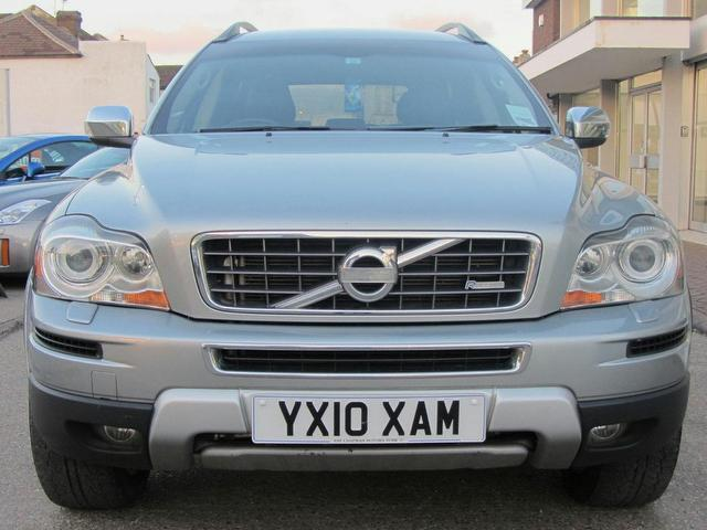 used volvo xc90 2010 diesel 2 4 d5 r design 4x4 silver edition for sale in sevenoaks uk autopazar. Black Bedroom Furniture Sets. Home Design Ideas