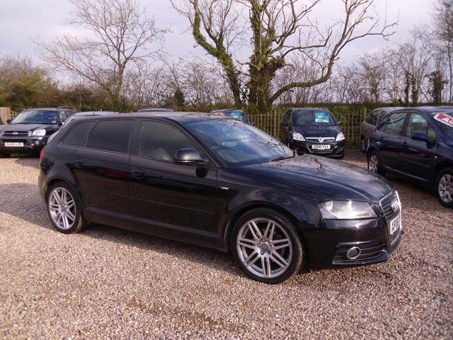 used 2008 audi a3 hatchback black edition 2 0 tdi s line diesel for sale in nuneaton uk autopazar. Black Bedroom Furniture Sets. Home Design Ideas
