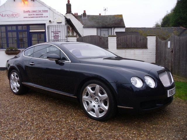 Used Bentley Continental 2007 Blue Paint Petrol Gt 6 0 W12