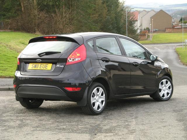 Used Ford Fiesta 2011 Manual Petrol 1 25 Edge 5 Door Black