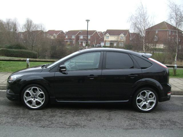 used ford focus car 2009 black diesel 1 8 tdci zetec s. Black Bedroom Furniture Sets. Home Design Ideas