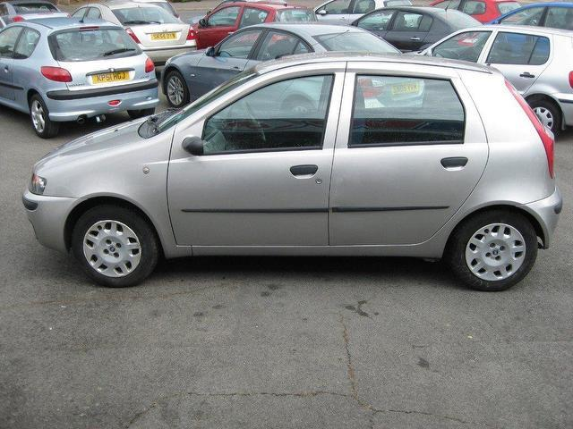 used fiat punto 2001 petrol 1 2 elx 5dr hatchback grey manual for sale in sittingbourne uk. Black Bedroom Furniture Sets. Home Design Ideas