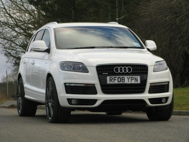 used 2008 audi q7 4x4 white edition 3 0 tdi quattro 240 diesel for sale in turrif uk autopazar. Black Bedroom Furniture Sets. Home Design Ideas