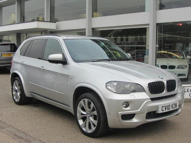 used bmw x5 2010 automatic diesel xdrive30d m sport 5 door silver for sale uk autopazar. Black Bedroom Furniture Sets. Home Design Ideas