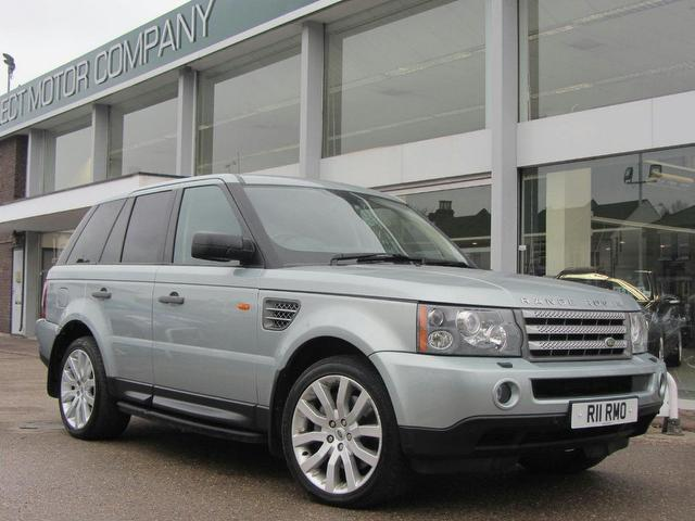 used land rover range 2007 silver paint diesel sport 3 6 4x4 for sale in sevenoaks uk autopazar. Black Bedroom Furniture Sets. Home Design Ideas