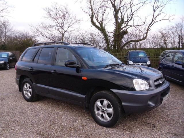 used 2005 hyundai santa 4x4 fe 2 0 crtd cdx diesel for sale in nuneaton uk autopazar. Black Bedroom Furniture Sets. Home Design Ideas