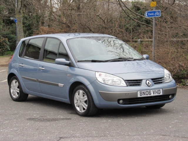 used blue renault scenic 2006 petrol in great condition for sale autopazar. Black Bedroom Furniture Sets. Home Design Ideas