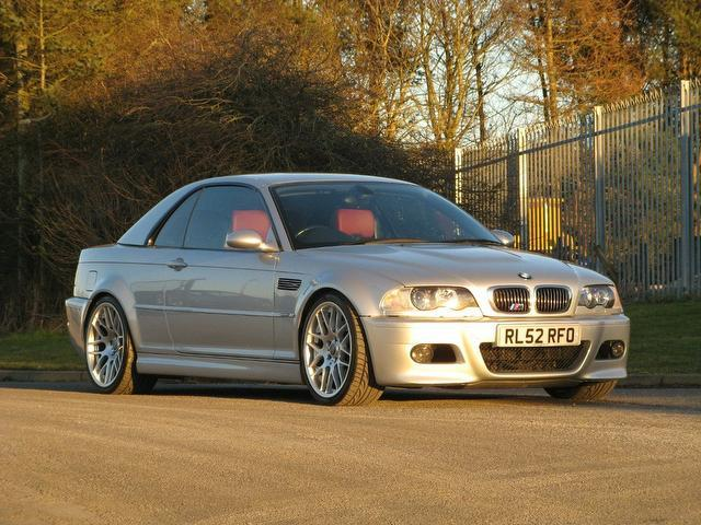 Used Bmw M3 2 Door 3.3  Convertible Silver 2002 Petrol for Sale in UK