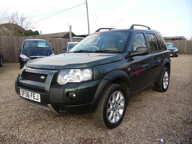 Used Land Rover Freelander 2006 Green Colour Diesel 2 0