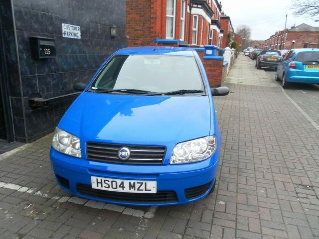 used 2004 fiat punto estate 1 2 active 3dr petrol for sale in stockport uk autopazar. Black Bedroom Furniture Sets. Home Design Ideas