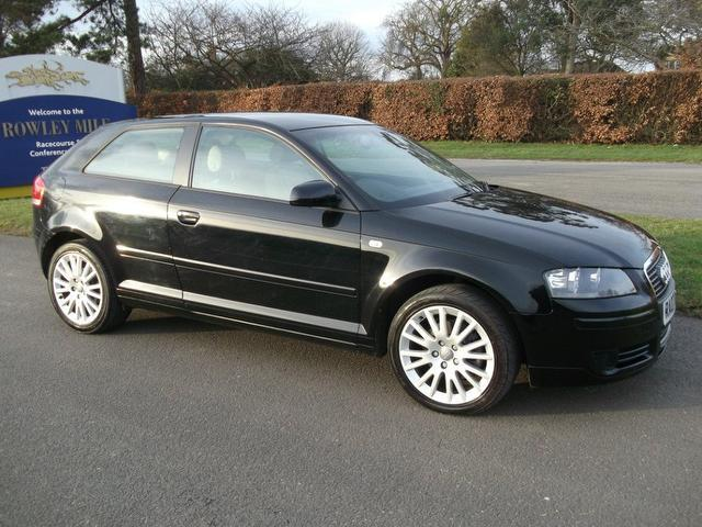 used 2007 audi a3 hatchback black edition 2 0 tdi se 3dr diesel for sale in newmarket uk autopazar. Black Bedroom Furniture Sets. Home Design Ideas