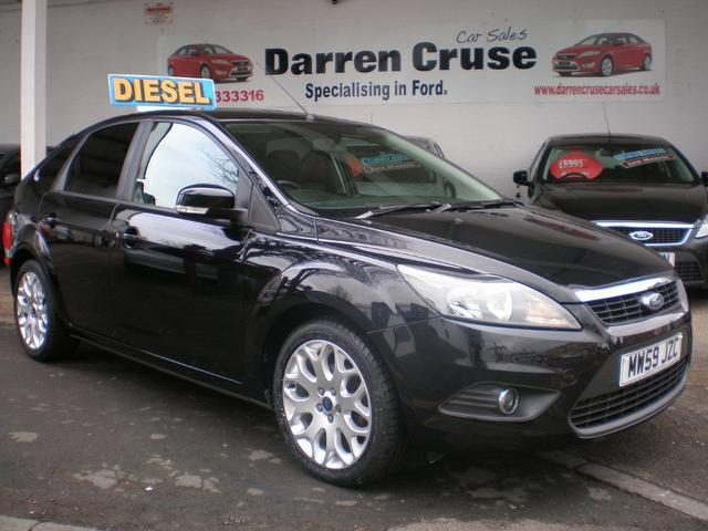 used ford focus 2010 model 1 6 tdci zetec 5dr diesel hatchback black quotes. Black Bedroom Furniture Sets. Home Design Ideas