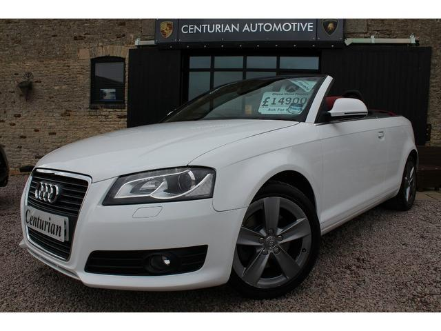 used 2008 audi a3 convertible white edition 2 0 t fsi. Black Bedroom Furniture Sets. Home Design Ideas