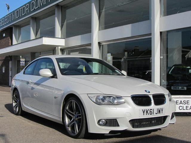 used bmw 3 series 2011 diesel 320d m sport coupe white edition for sale in sevenoaks uk autopazar. Black Bedroom Furniture Sets. Home Design Ideas