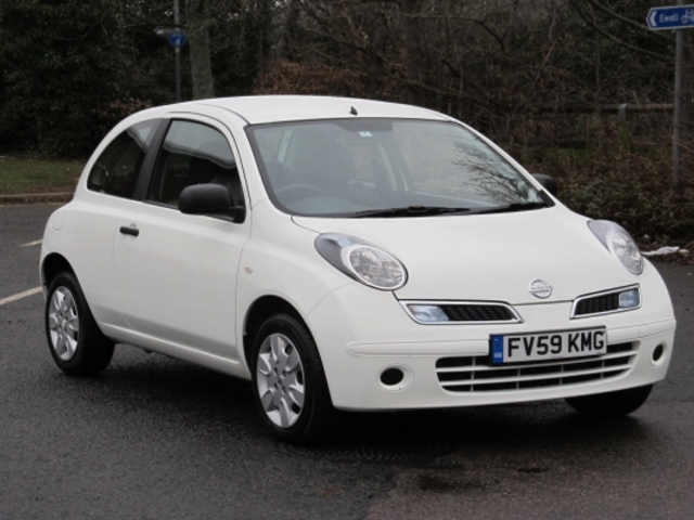 used nissan micra 2009 diesel white edition for sale in epsom uk autopazar. Black Bedroom Furniture Sets. Home Design Ideas