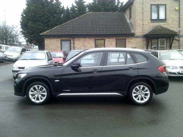 used black bmw x1 2010 diesel xdrive 23d se 5dr estate excellent condition for sale autopazar. Black Bedroom Furniture Sets. Home Design Ideas