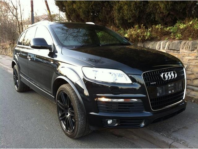 Used Audi Q Black Colour Diesel Tdi Quattro S X For Sale - Audi q7 used