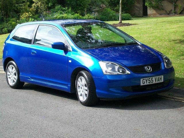 used honda civic 2005 petrol 1 6 i vtec se 3dr hatchback