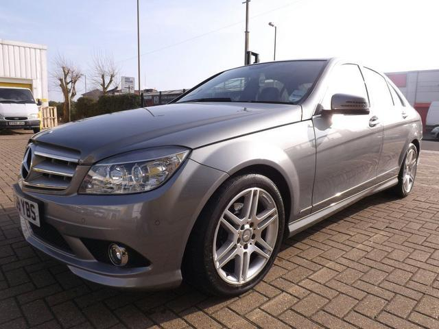 used silver mercedes benz 2009 diesel class c200 cdi sport saloon in great condition for sale. Black Bedroom Furniture Sets. Home Design Ideas