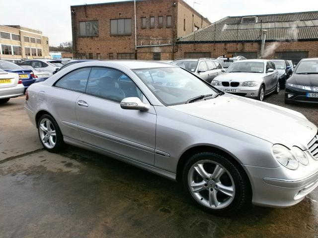Used mercedes benz 2003 automatic petrol 200k avantgarde 2 for Mercedes benz uk used