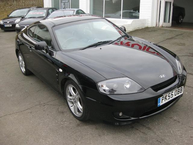 Used Hyundai Coupe 2005 Black Coupe Petrol Manual for Sale