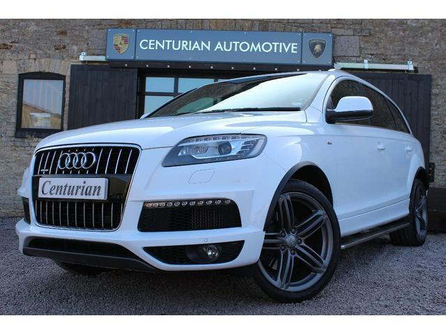 used audi q7 2009 white colour diesel 3 0 tdi 245 quattro 4x4 for sale in kettering uk autopazar. Black Bedroom Furniture Sets. Home Design Ideas